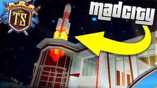 FIRING THE ROCKET IN CRIMINAL BASE! -Mad City | Danish Roblox
