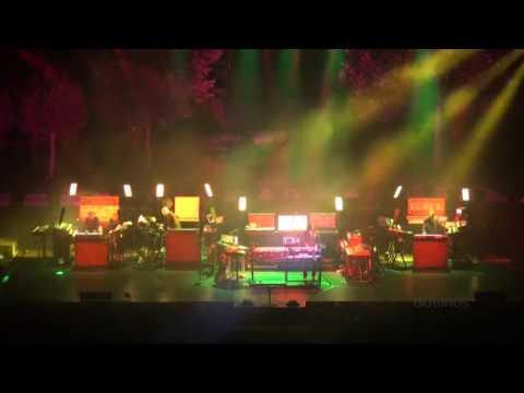 Jean Michel Jarre (Full Live) Thessaloniki θέατρο γης 30/5/2010 By Botanos