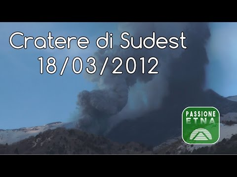 Etna - parossismo 18/03/2012