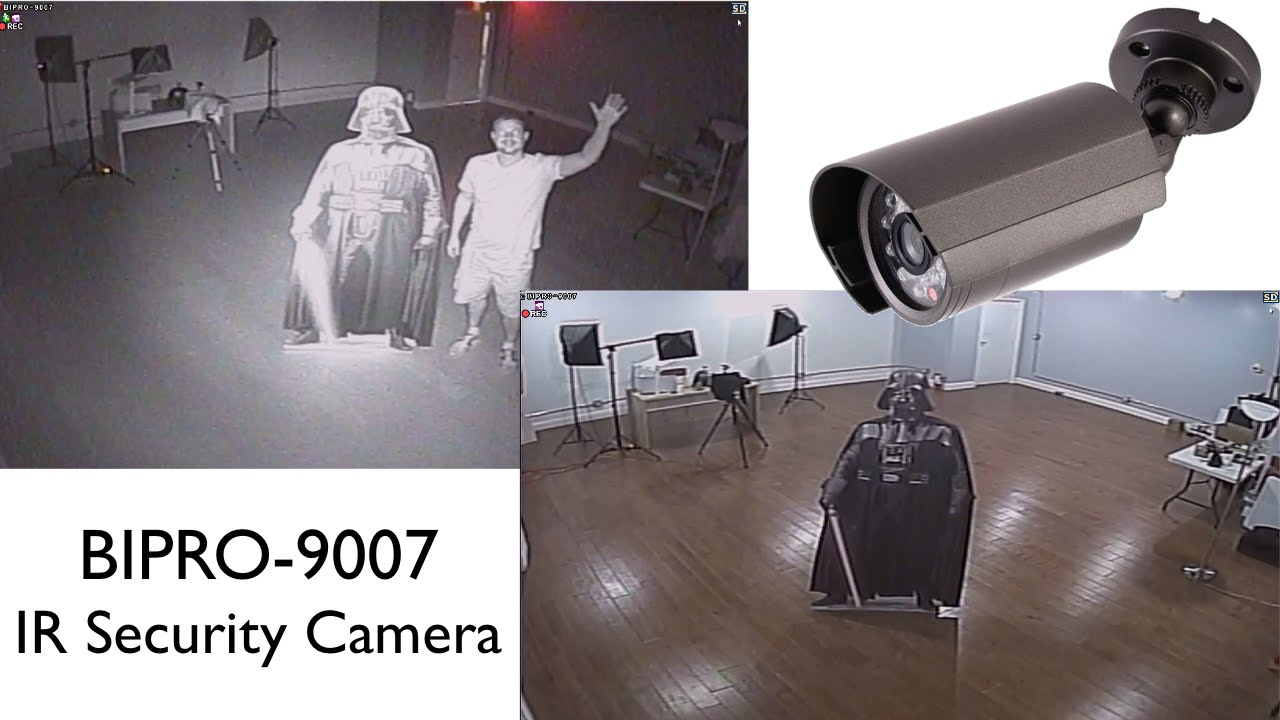 Infrared Security Camera Day And Night Cctv Video