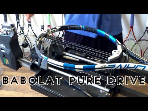 How to String a Tennis Racquet: Full String Job - Prince Neos - Babolat Pure Drive 16x19