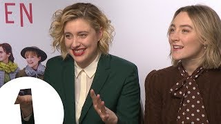 """Fries with Meryl!"" Saoirse Ronan and Greta Gerwig on Little Women and fast food 