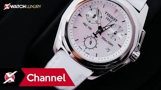 Trên tay đồng hồ Tissot T008.217.16.111.00:  Món quà cho những quý cô cá tính