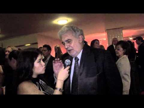 Kathy Salazar entrevista a : Placido Domingo