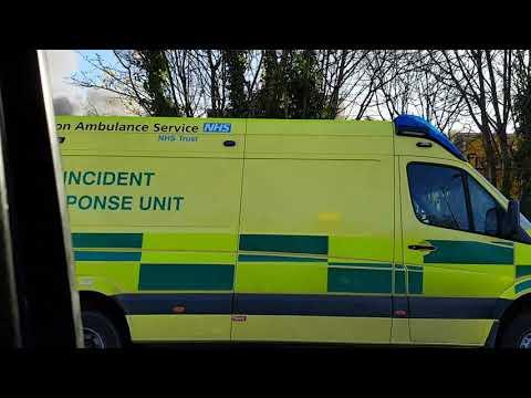 Fire at ponders end brimsdown Enfield,