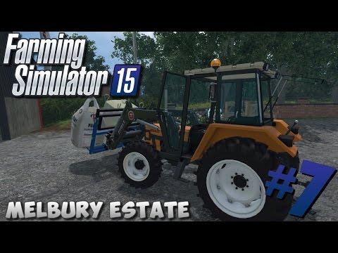 Farming Simulator 15   Melbury Estate #7 Renaults X3D, Big bags, ... !