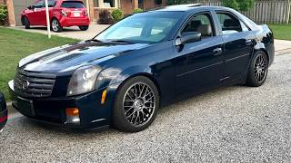Boosted V6 Cadillac CTS