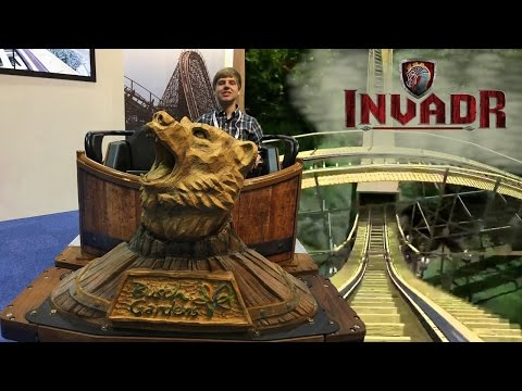 IAAPA 2016 Convention Tour of New 2017 Rides & Attractions!