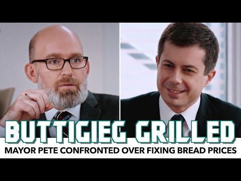 Pete Buttigieg Gets Grilled Over Fixing Bread Prices