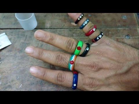 Amazing Handmade Paper Rings Made by Sakhi Gopal Panda