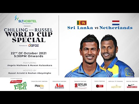 Download LIVE: Sri Lanka v Netherlands - Chilling With Russel World Cup Special