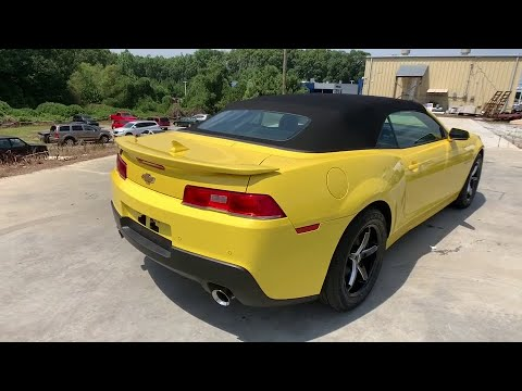2015 Chevrolet Camaro Anderson County, Greenville, Clemson, Easley, Lake Hartwell, SC 4590PCA