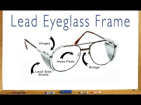 The Parts of a Lead Eyeglass Frame - YouTube