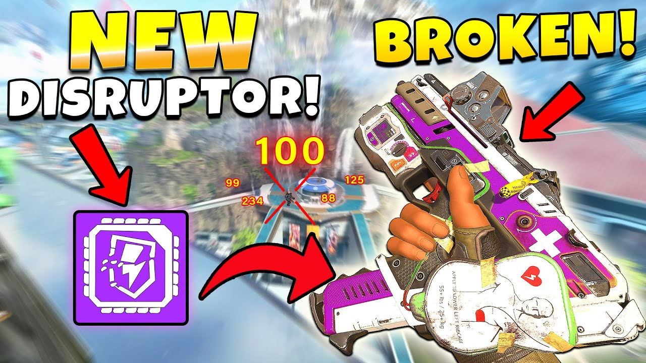 *NEW* DISRUPTOR ROUNDS ARE BACK AND BROKEN! - Top Apex Plays, Funny & Epic Moments #707