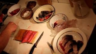 Засолка горбуши и ее молоки (красная рыба)
