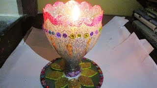 DIY Diwali/Christmas Home Decoration Ideas//diya decoration