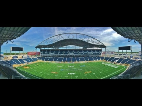 Investors Group Field - Winnipeg Blue Bombers - Inside the Stadium