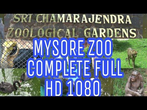 Mysore zoo complete full HD 1080 /Chamarajendra Zoological Gardens