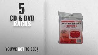 Top 10 Cd & Dvd Racks [2018]: 100 Clear 120 Micron CD / DVD Sleeves
