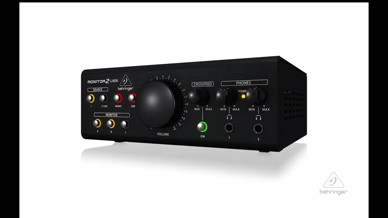 Behringer MONITOR2USB - High-End Speaker and Headphone Monitoring Controller