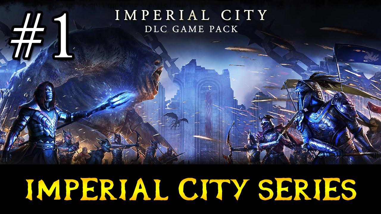 EXPLORING THE IMPERIAL CITY UPDATE (Elder Scrolls Online: Tamriel Unlimited  - PC)