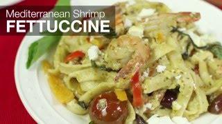Ronco Recipes - Mediterranean Shrimp Fettuccine
