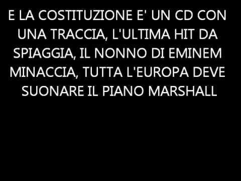 CapaRezza - 04 - Pimpami La Storia - Lyrics