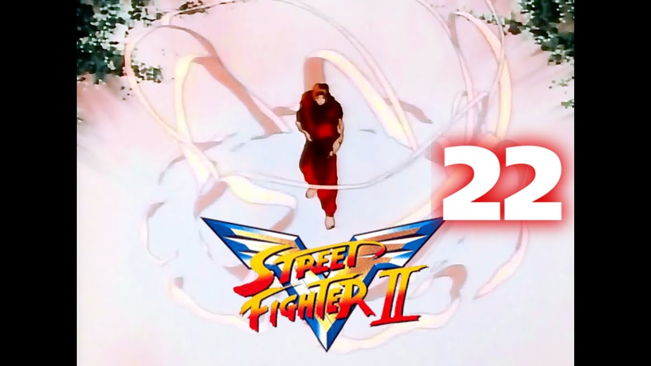 Street Fighter II V - CAP.22. La manifestación del Hadoken. (Audio Latino)