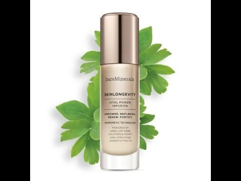 Review on the Bareminerals SKINLONGEVITY  Vital Power Infusion