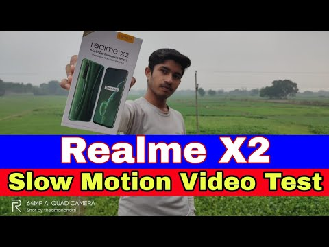 Realme X2 Slow Motion Video Test | Realme X2 Camera Test
