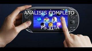 Análisis completo de la PS Vita en español HD