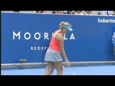 Angelique KERBER v Mona BARTHEL - Moorilla Hobart International FULL MATCH .mp4