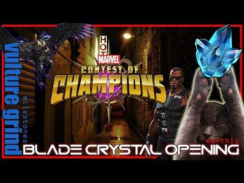 BLADE Monthly Crystal opening ft. Meeko! Vulture Milestones + More!