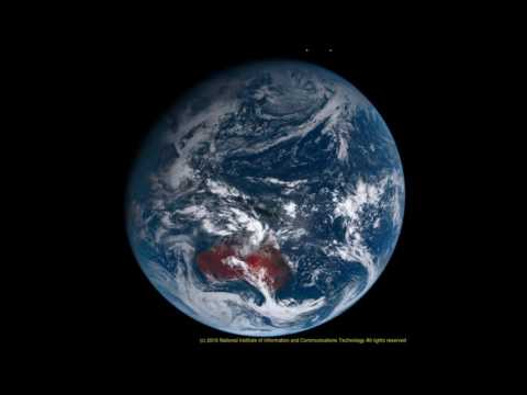 24 hours of daylight North and South Pole 1080p