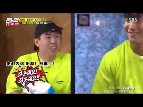 Running man 2019 梁世燦的小失誤 讓金鍾國像尿褲子 - YouTube