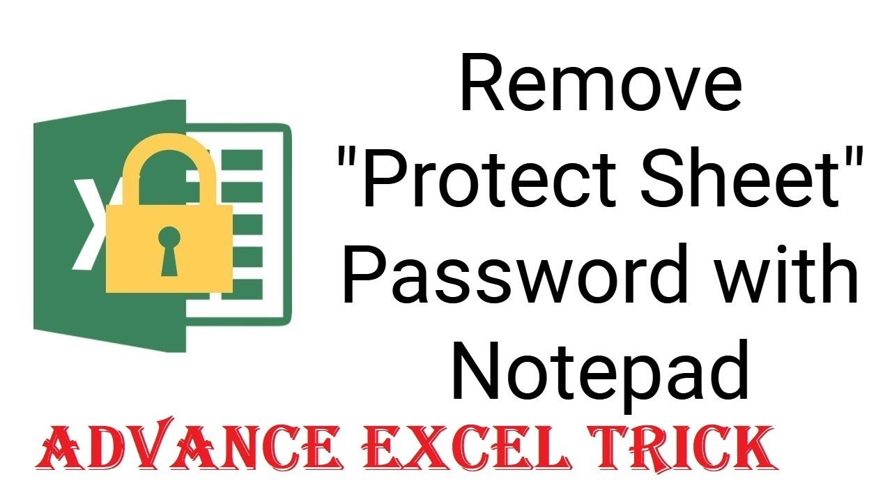 how to edit a protected excel sheet