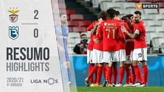 Highlights   Resumo: Benfica 2-0 Belenenses (Liga 20/21 #5)
