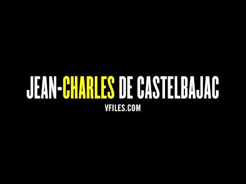 How to pronounce Jean-Charles de Castelbajac
