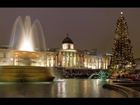 Trafalgar Square Tour Travel Attractions 2015 | Trafalgar Square Photos Destination Video 2015