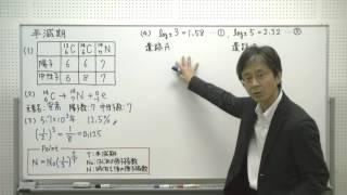 81…半減期/『秘伝の物理問題集High』