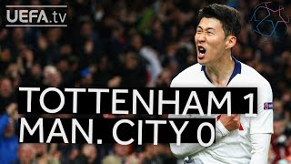TOTTENHAM 1-0 MAN. CITY #UCL HIGHLIGHTS
