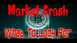 Cryptos - Market Crash | What You Should Look Out For!