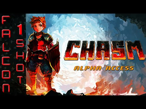 Falcon 1 Shot: Let's Play Chasm | Gameplay Review | PC / PS4 (Alpha Access)