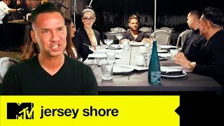 Mike's Awkward Welcome Dinner | Jersey Shore Family Vacation