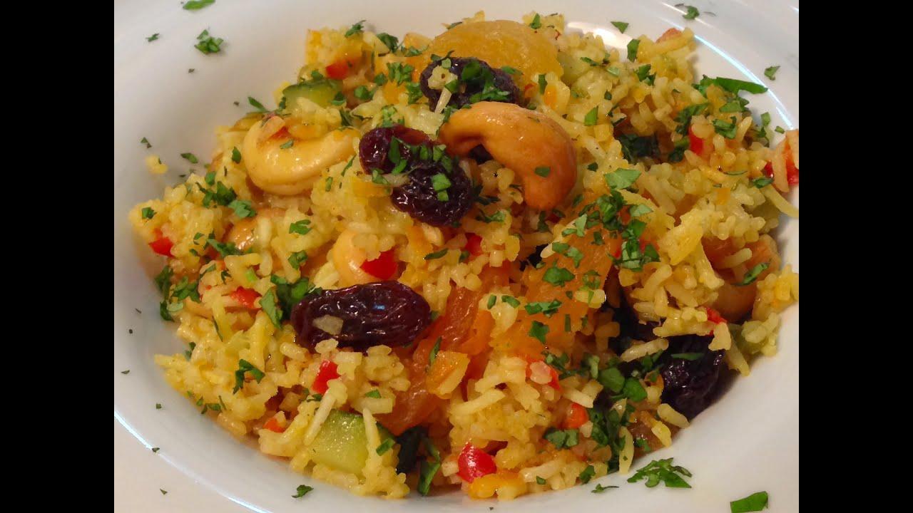 arroz basmati al curry facil