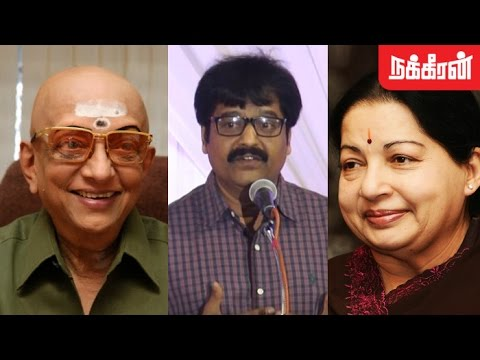 Actor Vivek shares his words about Jayalalitha and Cho