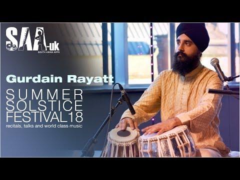 Summer Solstice Festival 2018 / Gurdain Rayatt / Tabla composition