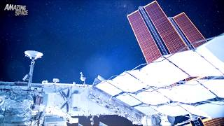 Amazing Space Videos: Star Sails  | Time Lapse View From The ISS