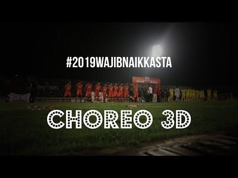 Match Ambience: Choreo 3D Opening Liga 2 2018