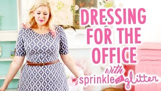 How To Dress Stylish At Work with Sprinkle of Glitter - HGTV Handmade